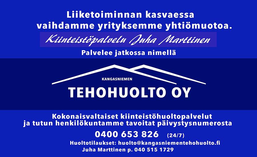 Kangasniemen Tehohuolto Oy
